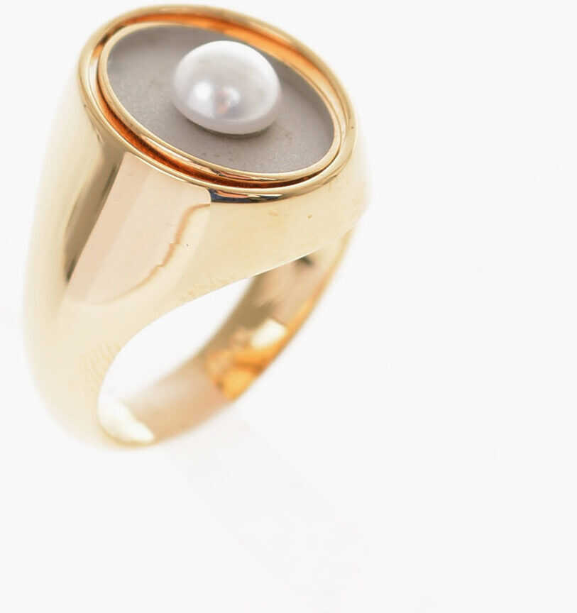 MM11 Brass signet ring