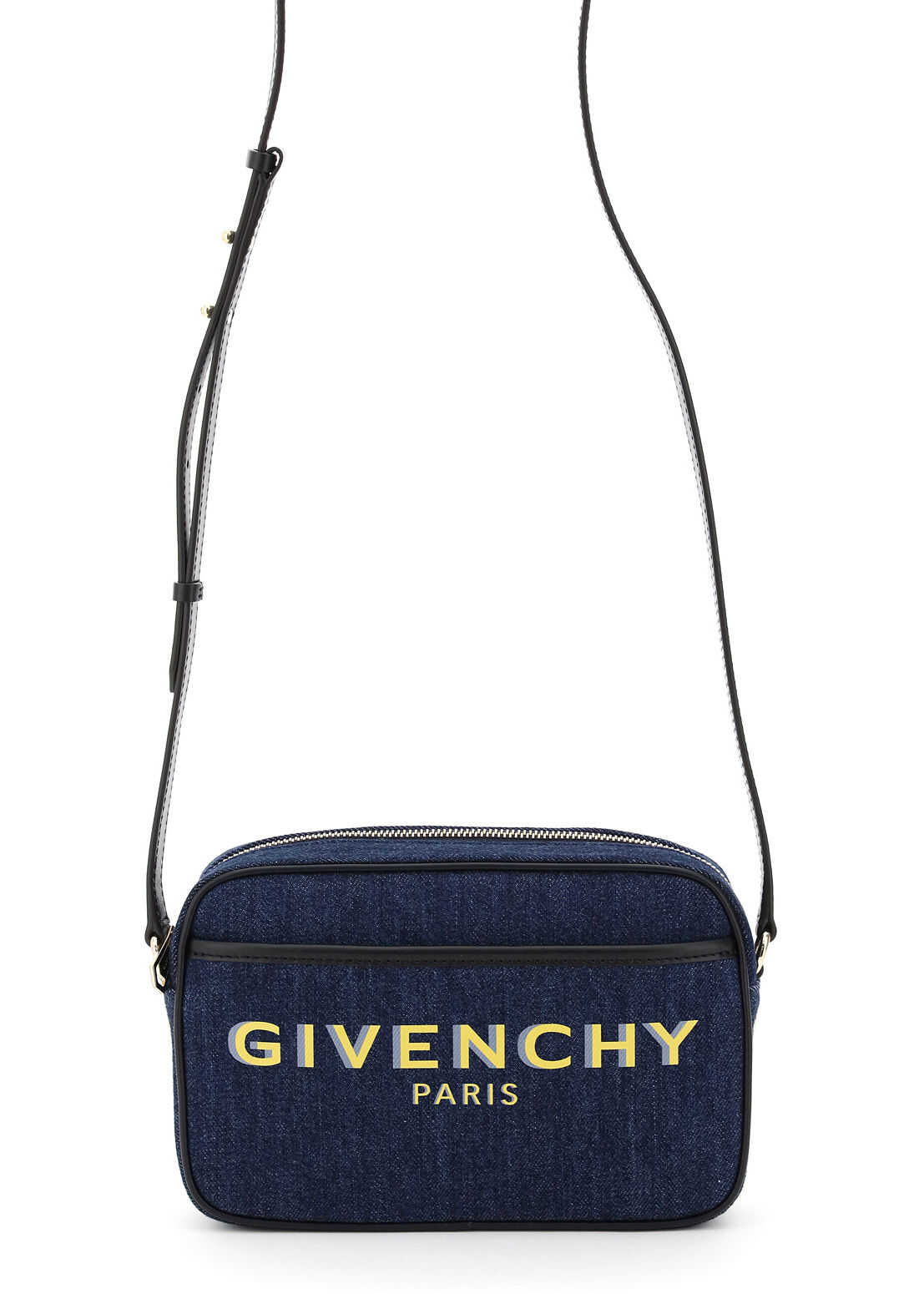 Givenchy Bond Printed Camera Bag BB50G9B10H BLUE imagine b-mall.ro