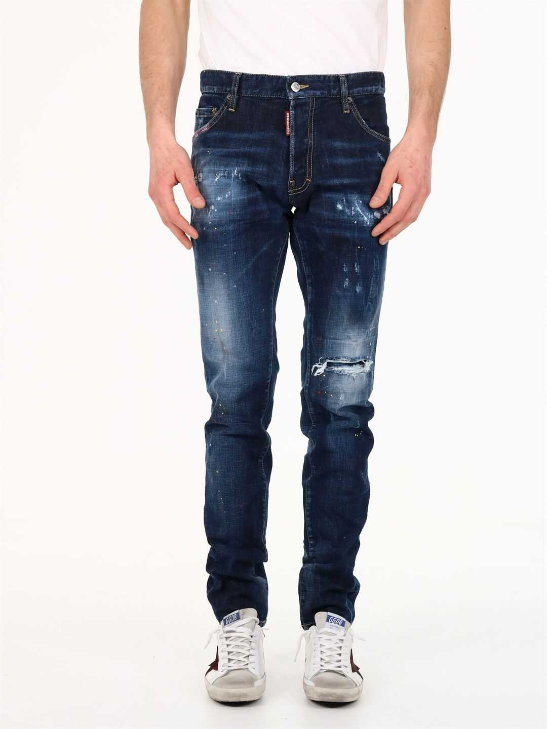 DSQUARED2 Cool Guy Jeans Blue imagine