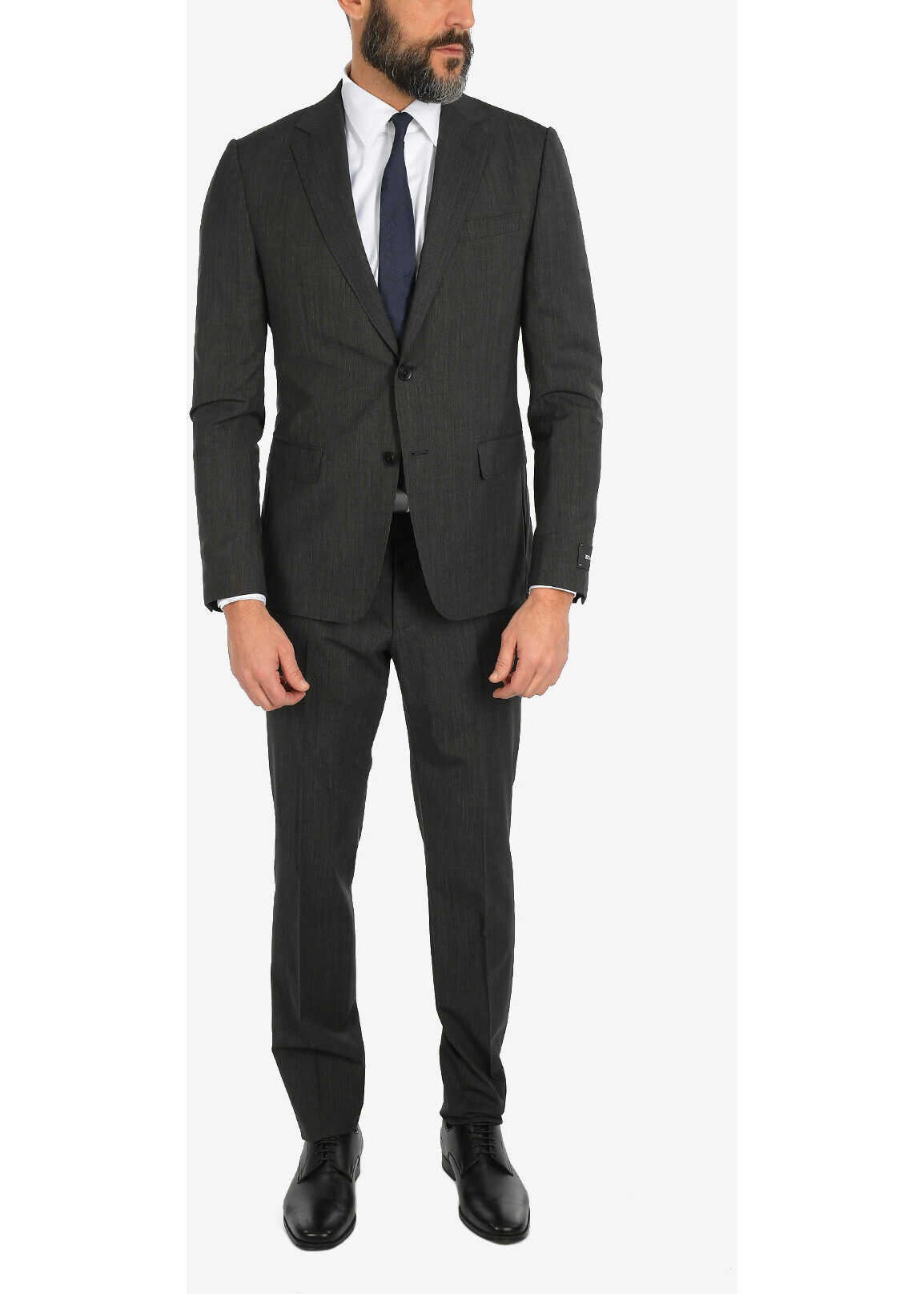 ZZEGNA Stretchy Wool 2 Button Suit