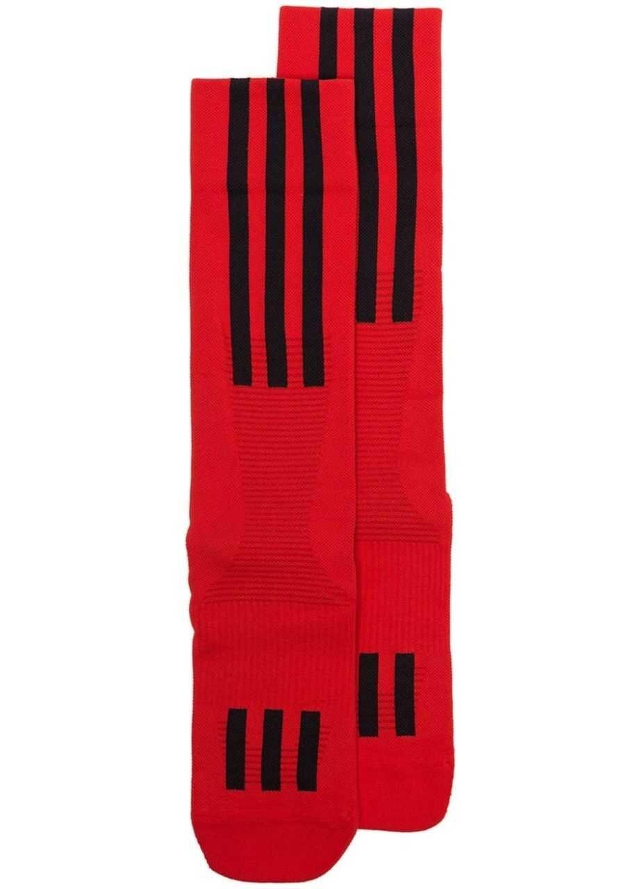 adidas Y-3 Logo Tech Socks EC0706 Red imagine