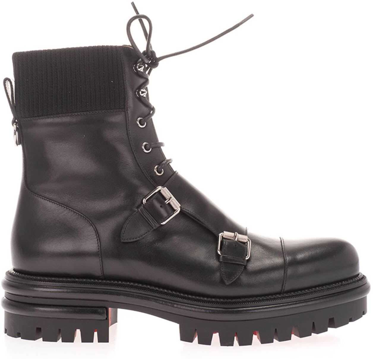 Yetito Combat Boots In Black
