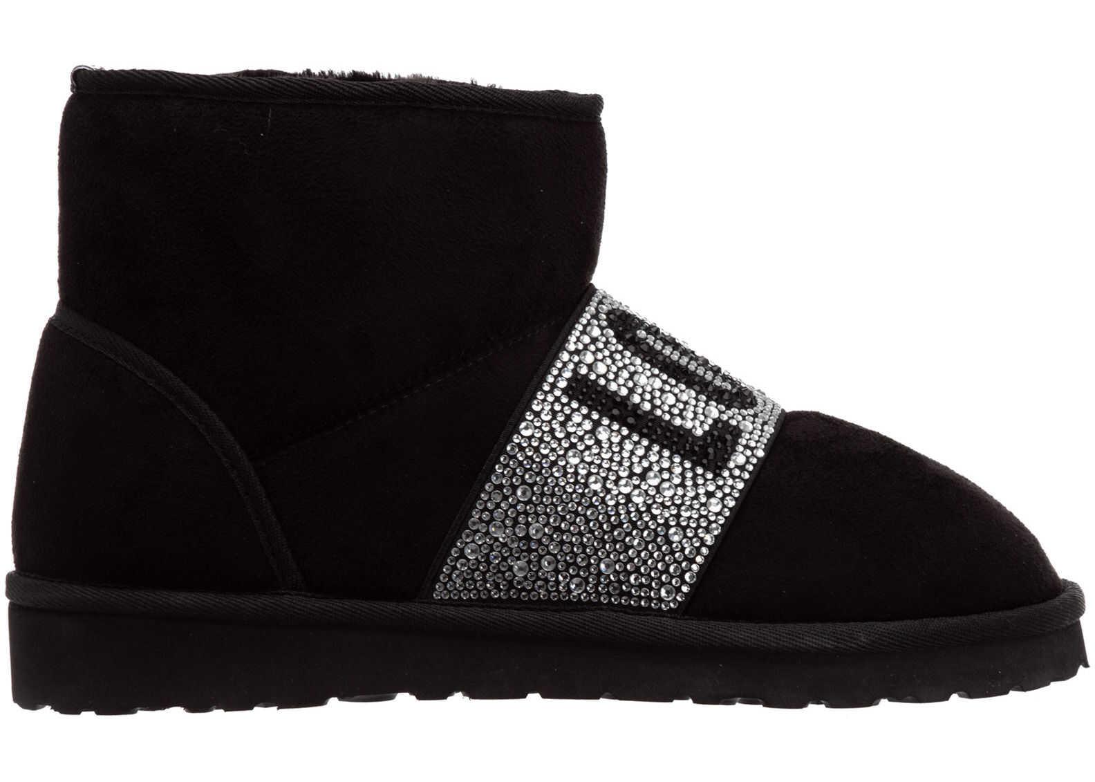 LOVE Moschino Boots Booties JA21013H1BIS0000 Black imagine b-mall.ro