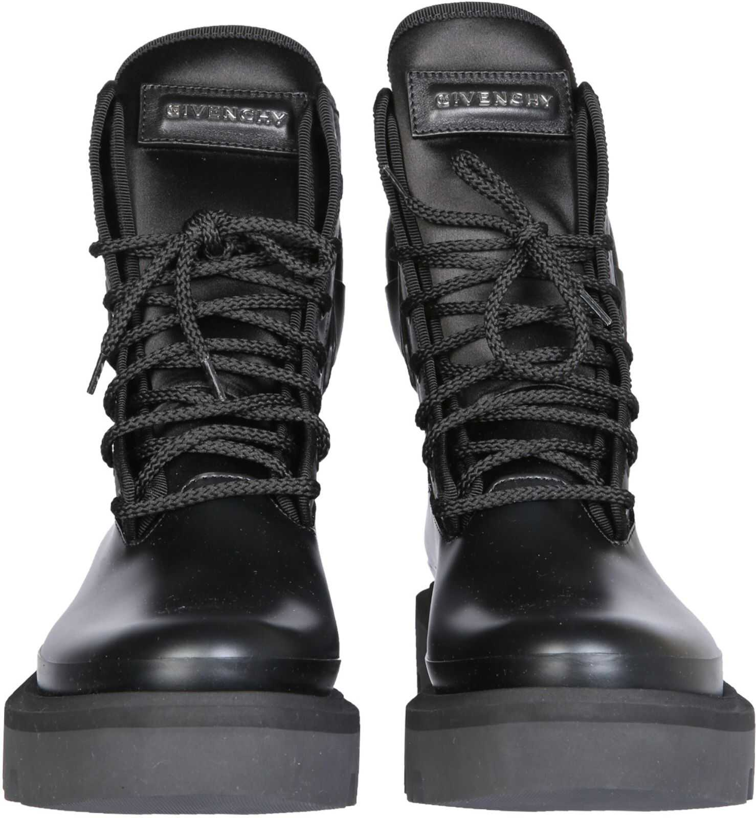 Givenchy Combat Boots BE602NE0Y0_001 BLACK imagine b-mall.ro