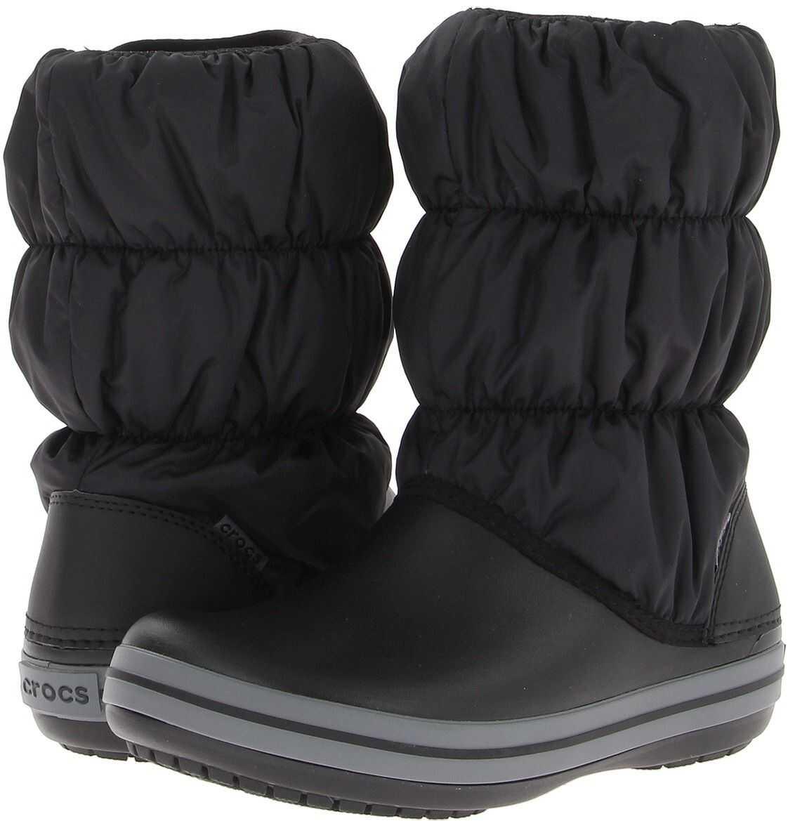 Crocs Winter Puff Boot Black/Charcoal