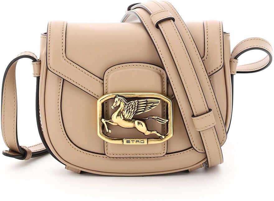 ETRO Pegaso Xs Crossbody Bag 1I439 2160 BEIGE imagine b-mall.ro