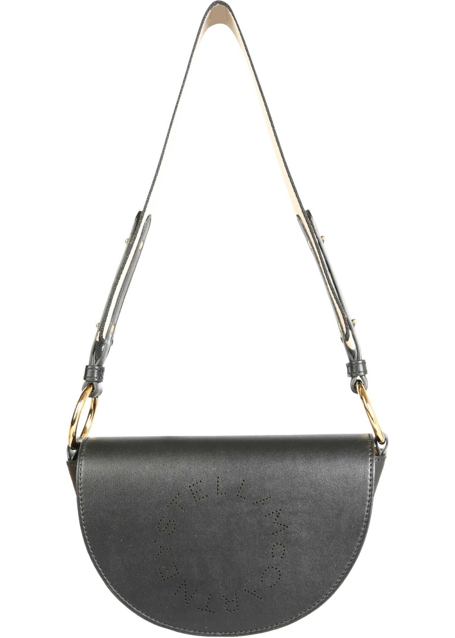 Stella McCartney Mini Marlee Bag 700083_W85421000 BLACK imagine b-mall.ro