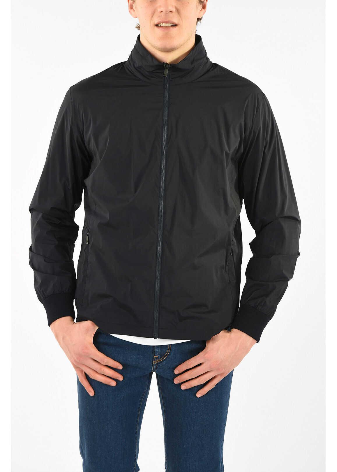 Z ZEGNA Reversible TECHMERINO Jacket with Zip Closure