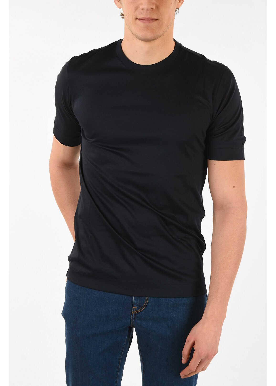 Z ZEGNA Cotton Crew-Neck T-Shirt