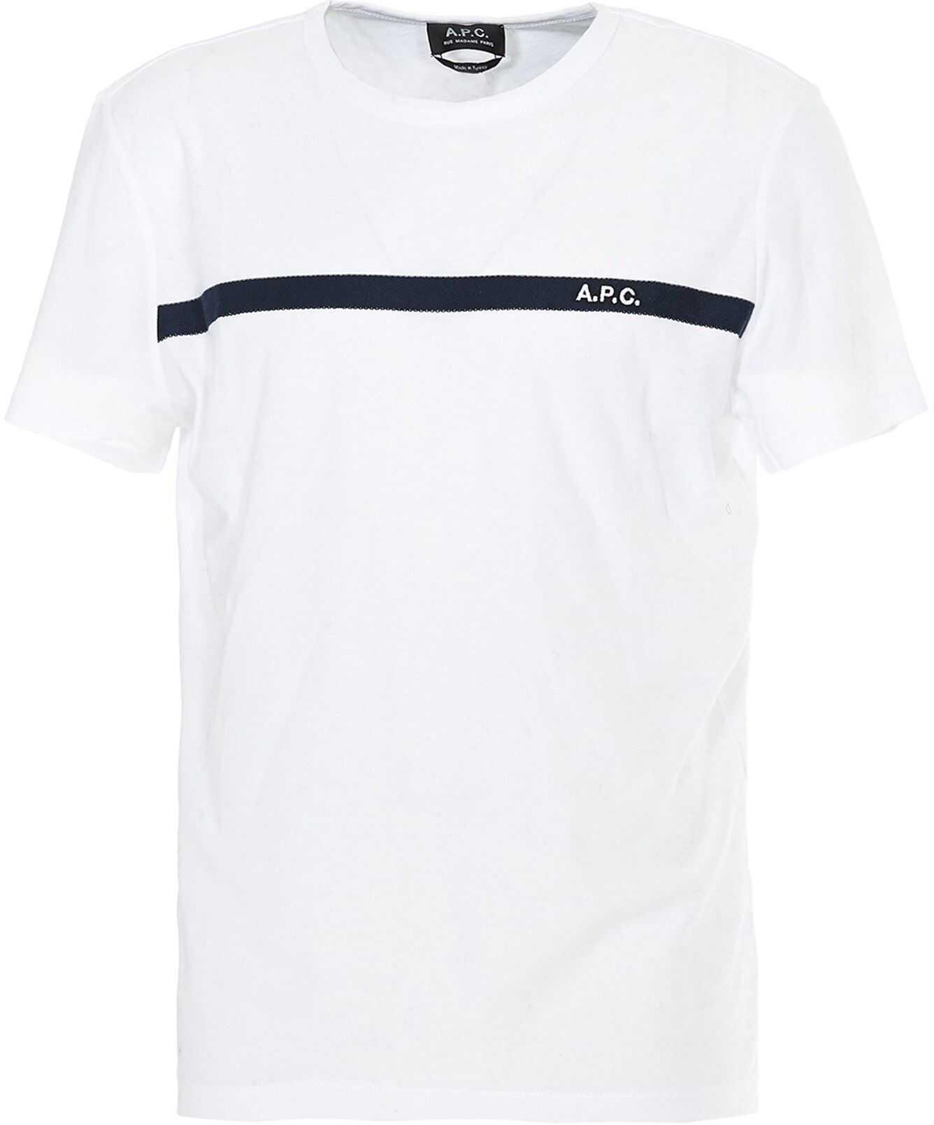 Yukata Logo Band White T-Shirt
