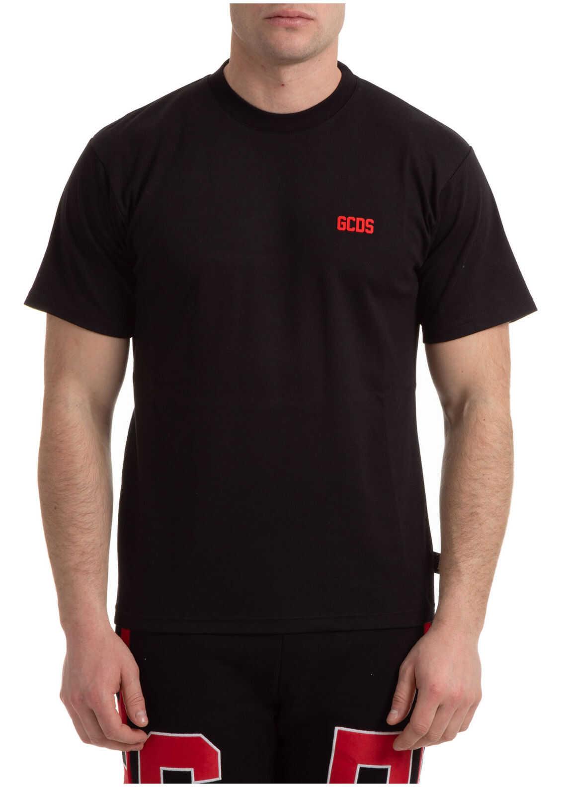 GCDS Neckline Jumper Black imagine