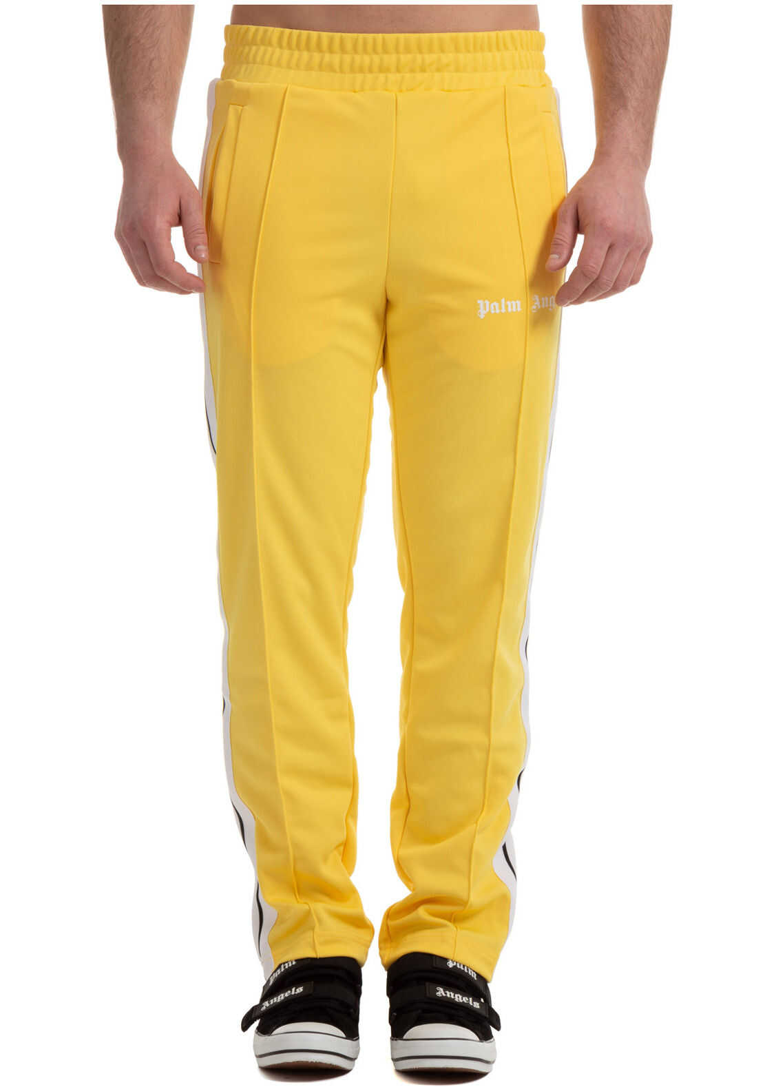 Palm Angels Tracksuit Trousers Yellow imagine