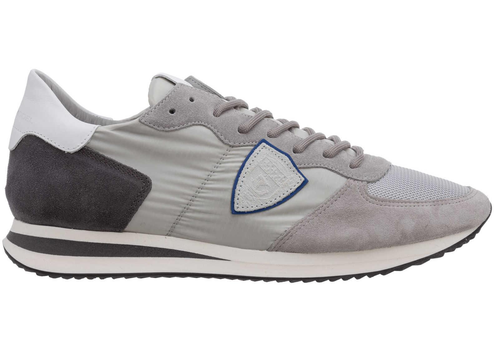 Philippe Model Sneakers Trpx A11ETZLUW058 Grey imagine b-mall.ro