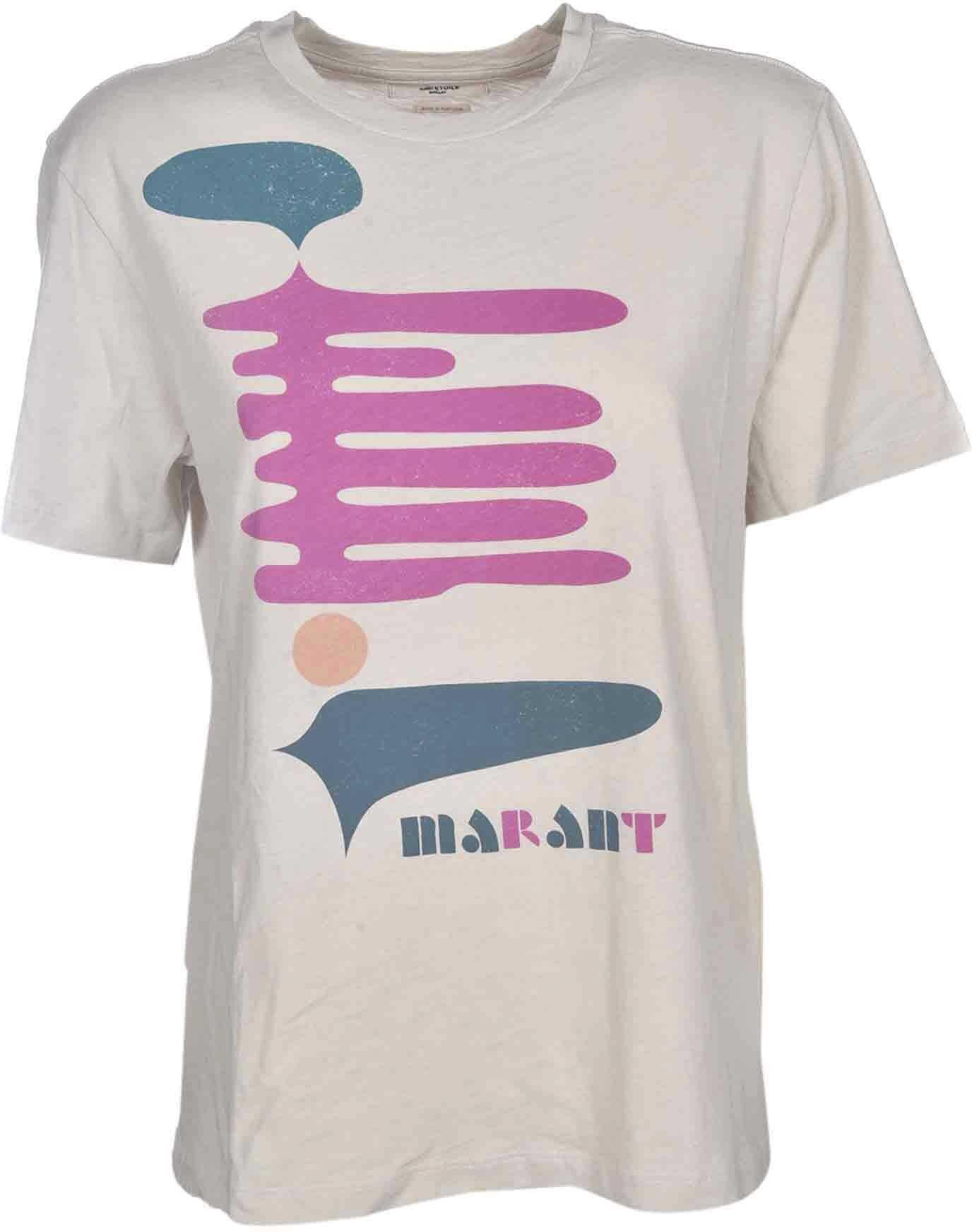 Zewel T-Shirt In Ecru Color