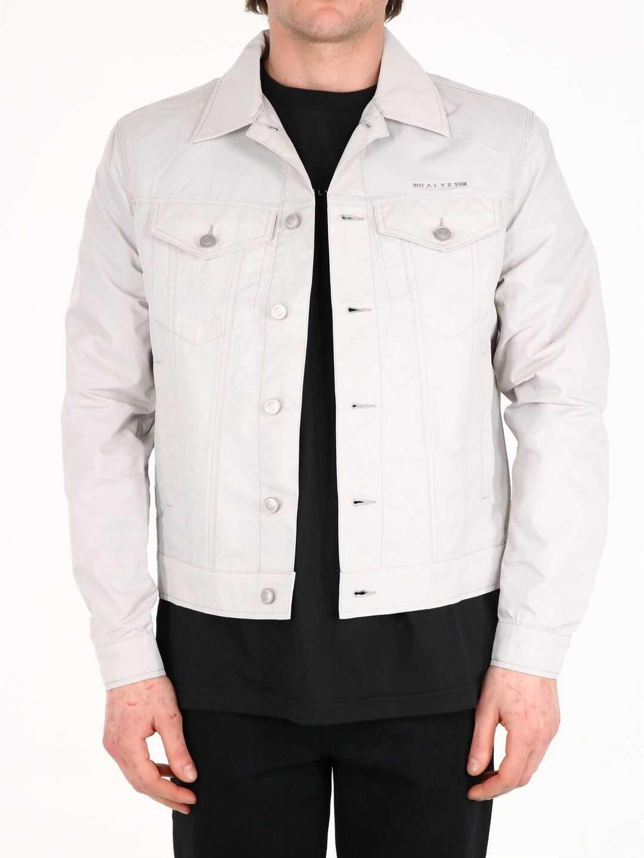 Alyx Shiny Logo Jacket Gray Grey imagine