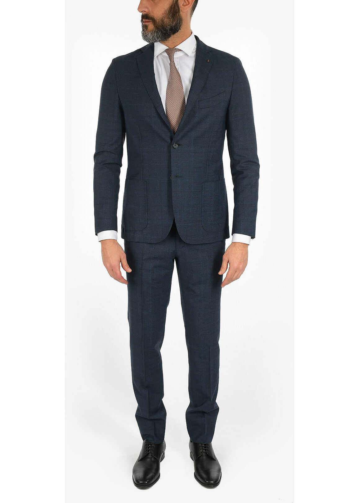 CORNELIANI CC COLLECTION REWARD 3-button suit BLUE imagine
