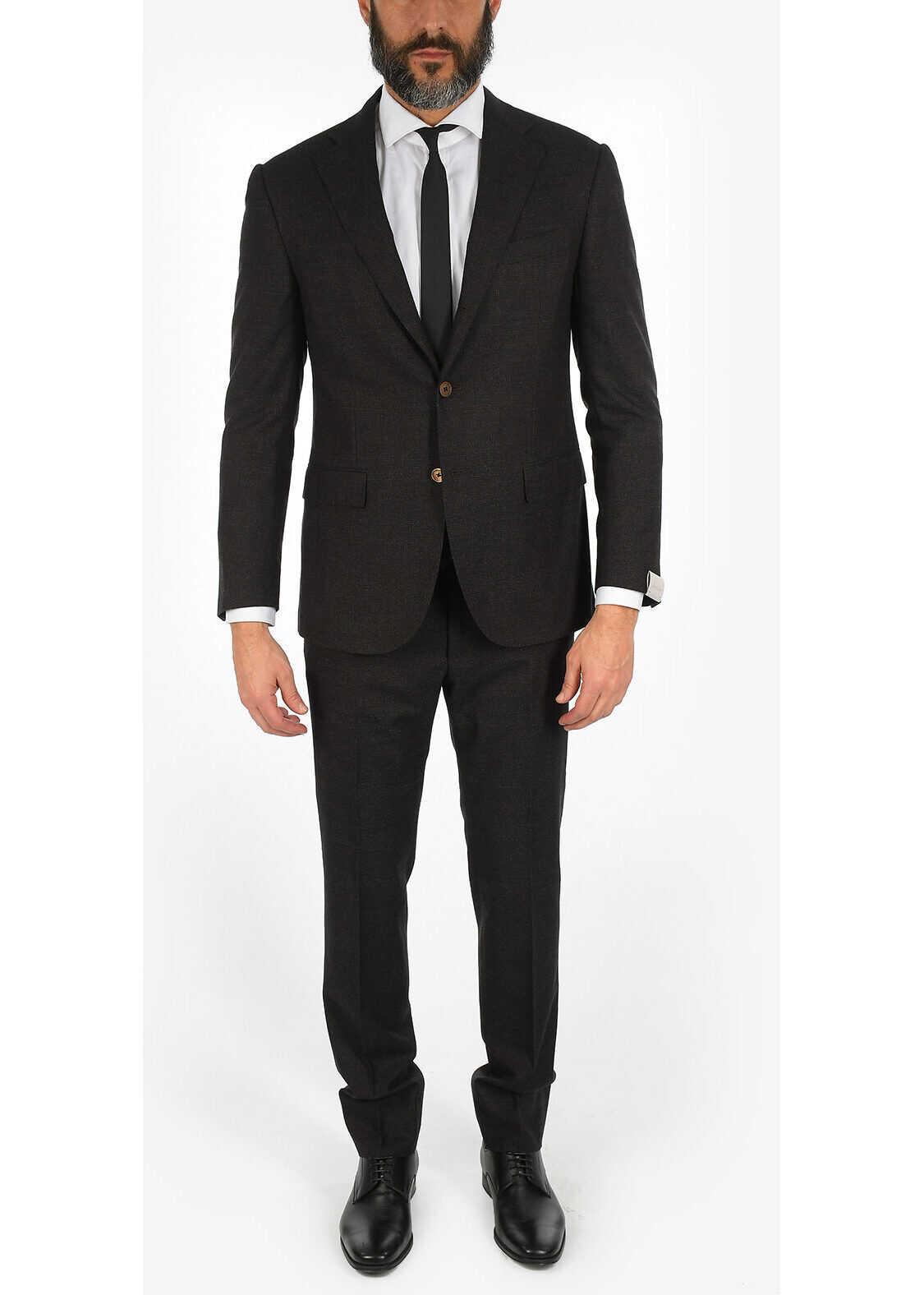 CORNELIANI drop 6R ACADEMY 3-button suit GRAY imagine