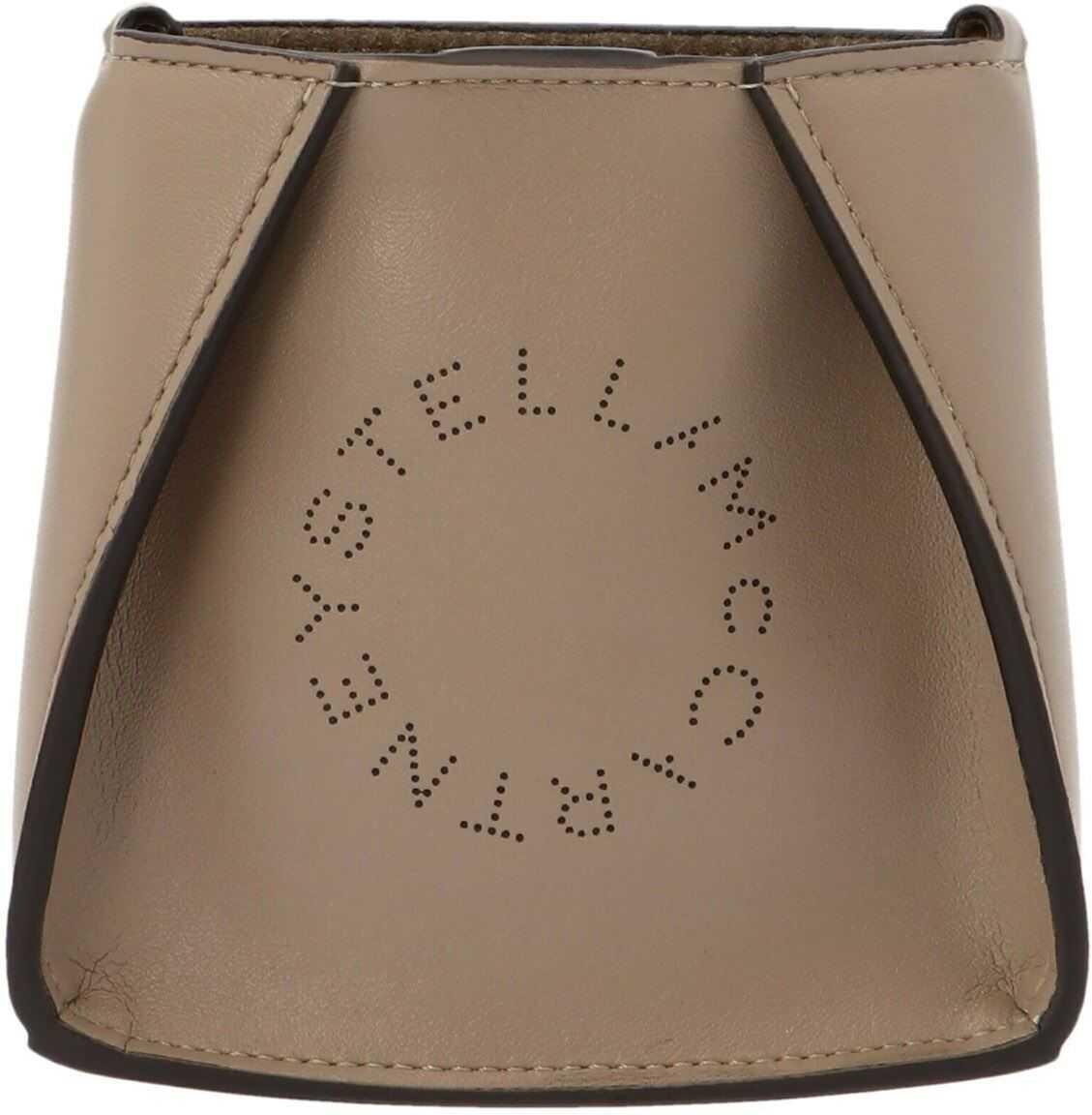 Stella McCartney Micro Bag Crossbody Bag In Beige 700159W85422800 Beige imagine b-mall.ro