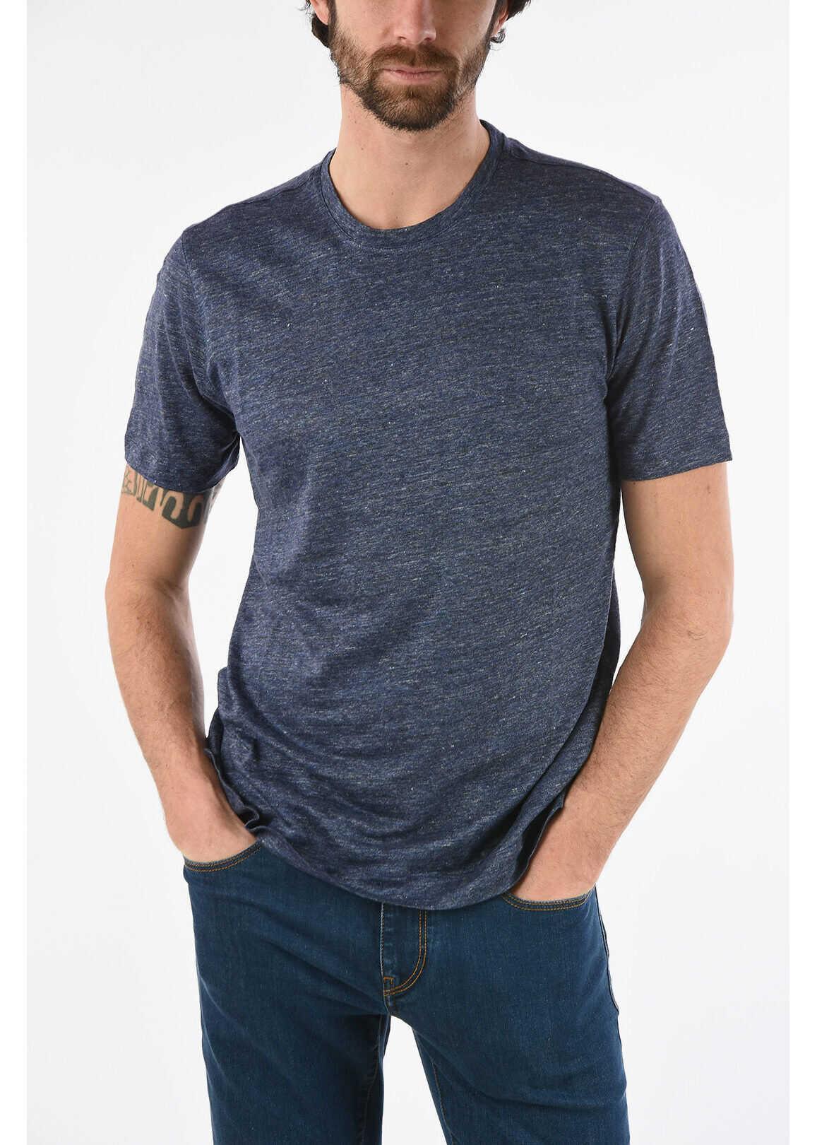 ZZEGNA Linen T-shirt