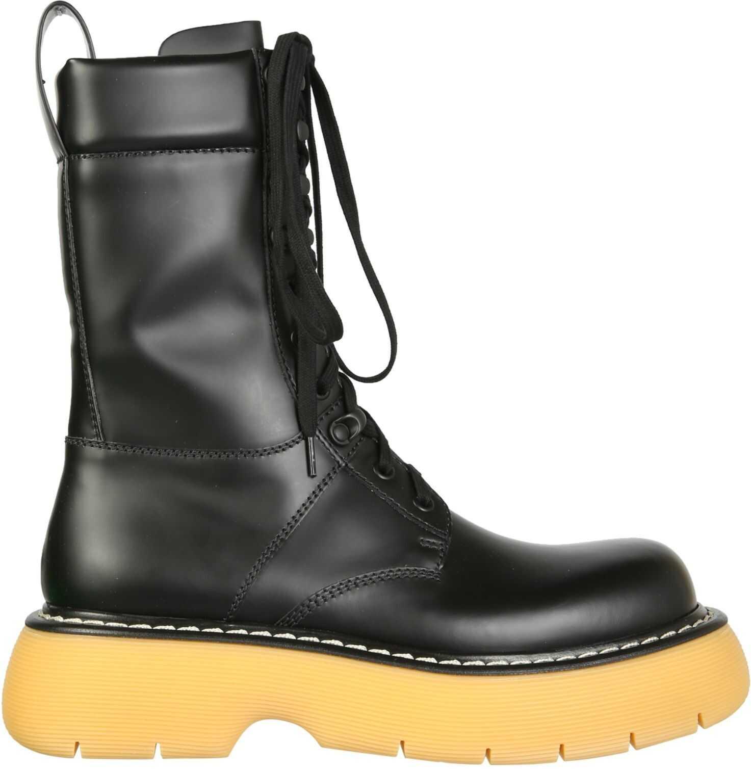 Bottega Veneta The Bounce Boots 651411_V00H01032 BLACK imagine b-mall.ro