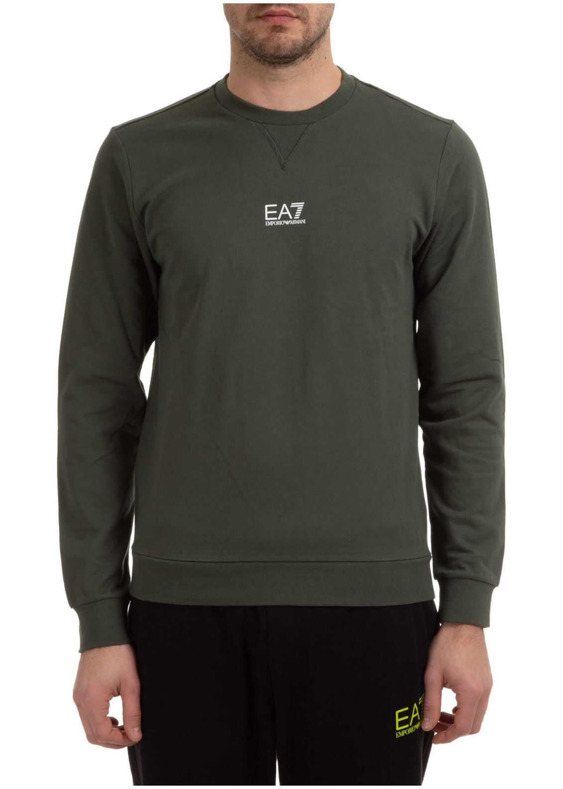 EA7 Sweatshirt Sweat Green imagine