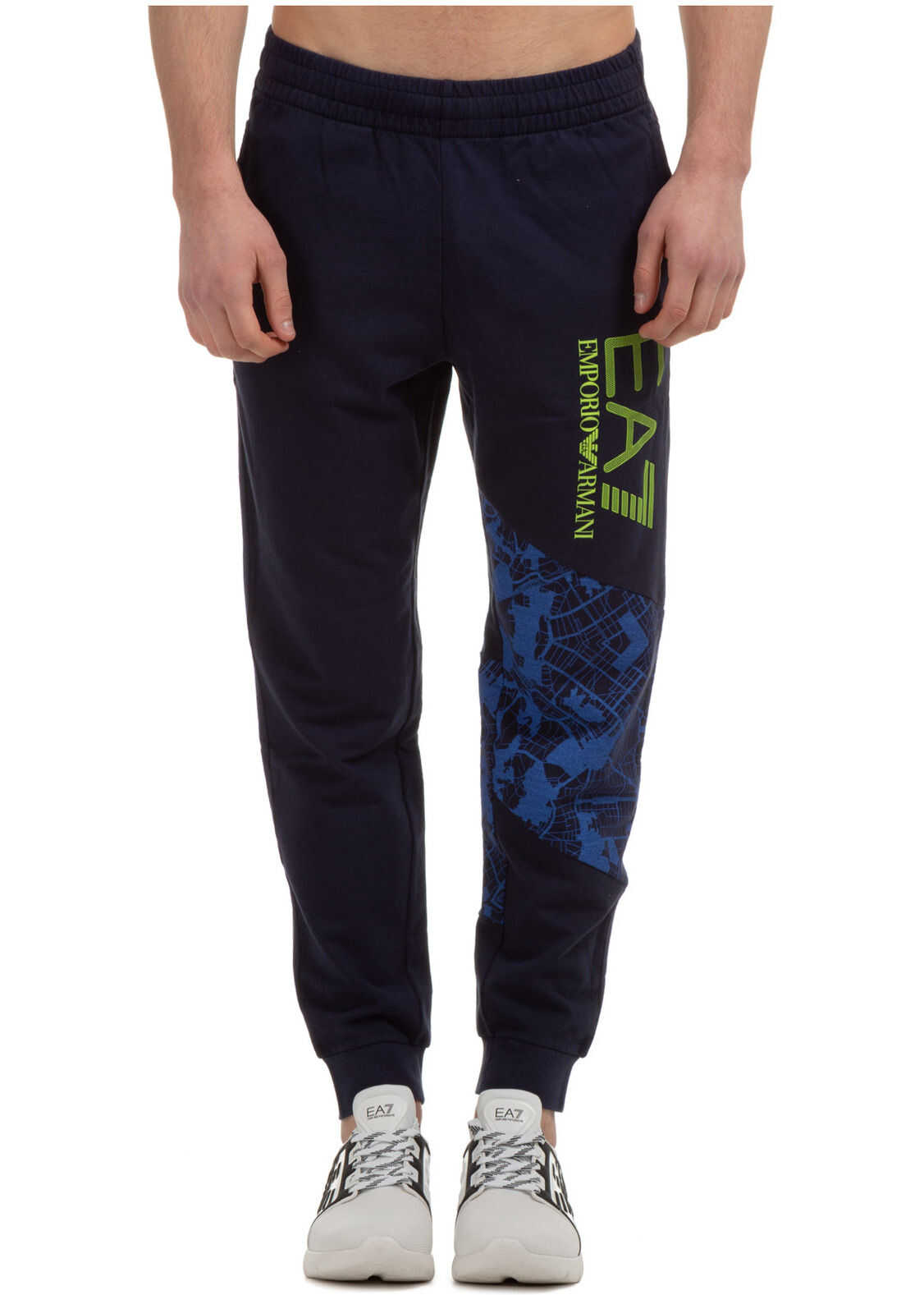 EA7 Tracksuit Trousers Blue imagine