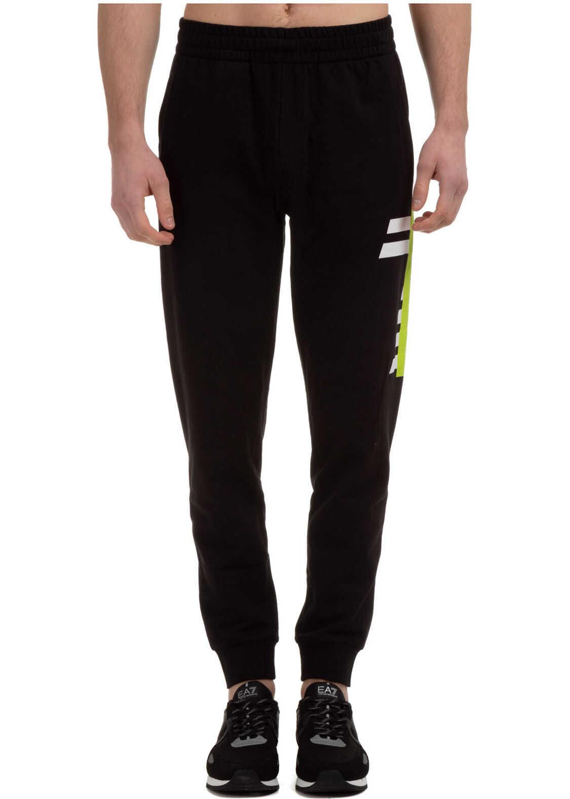 EA7 Tracksuit Trousers Black imagine