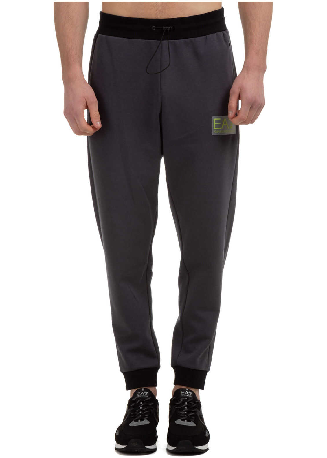 EA7 Tracksuit Trousers Grey imagine