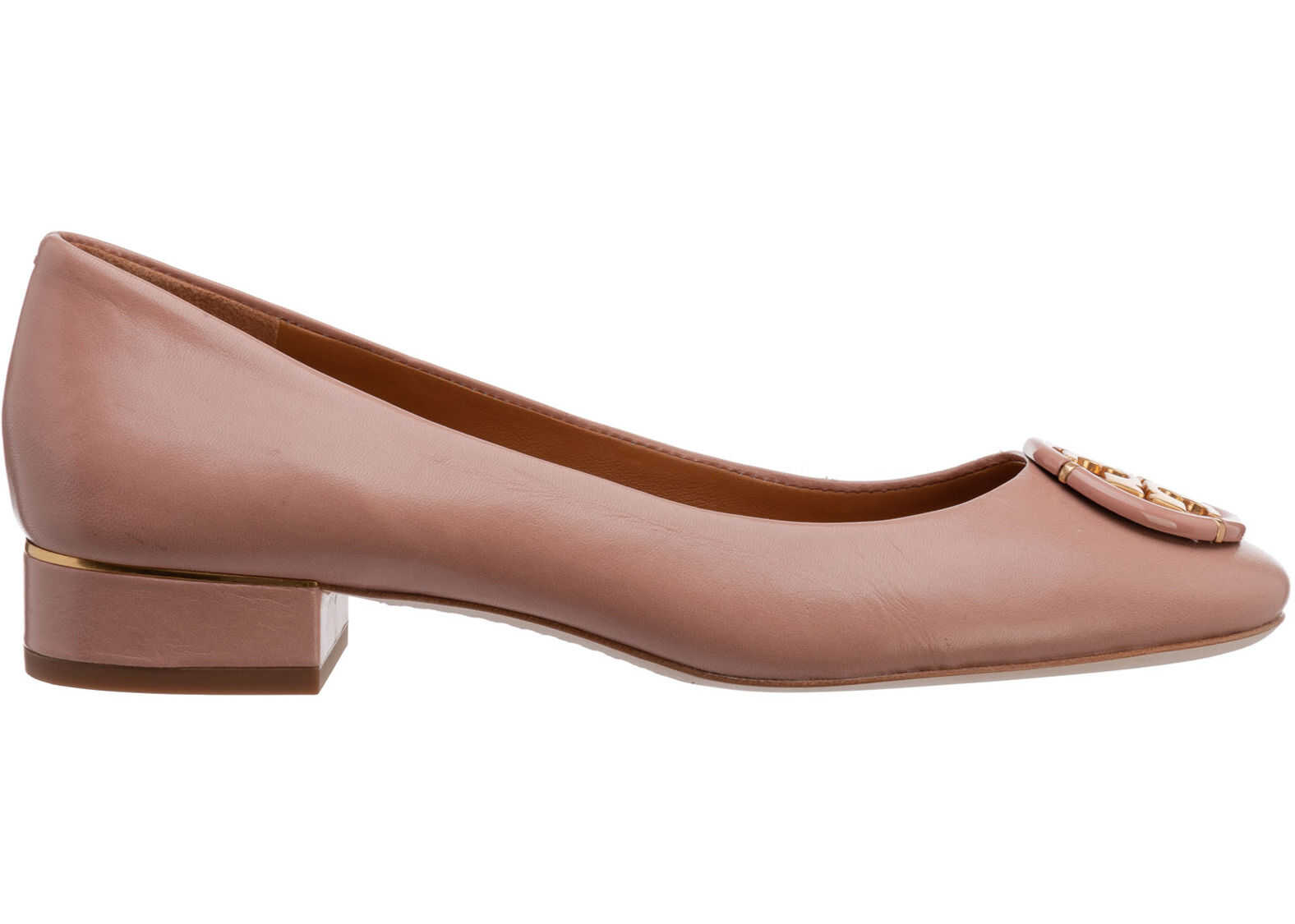 Tory Burch Flats Ballerinas 79548689 Pink imagine b-mall.ro