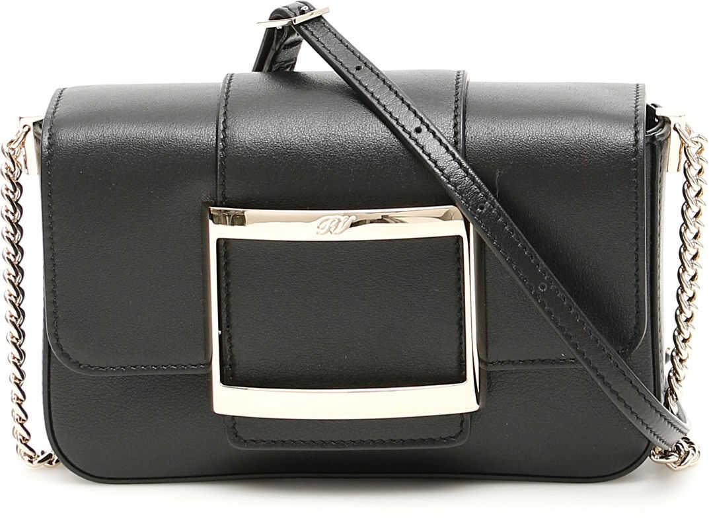 Roger Vivier Très Vivier Micro Bag RBWANAB1000XMA NERO imagine b-mall.ro