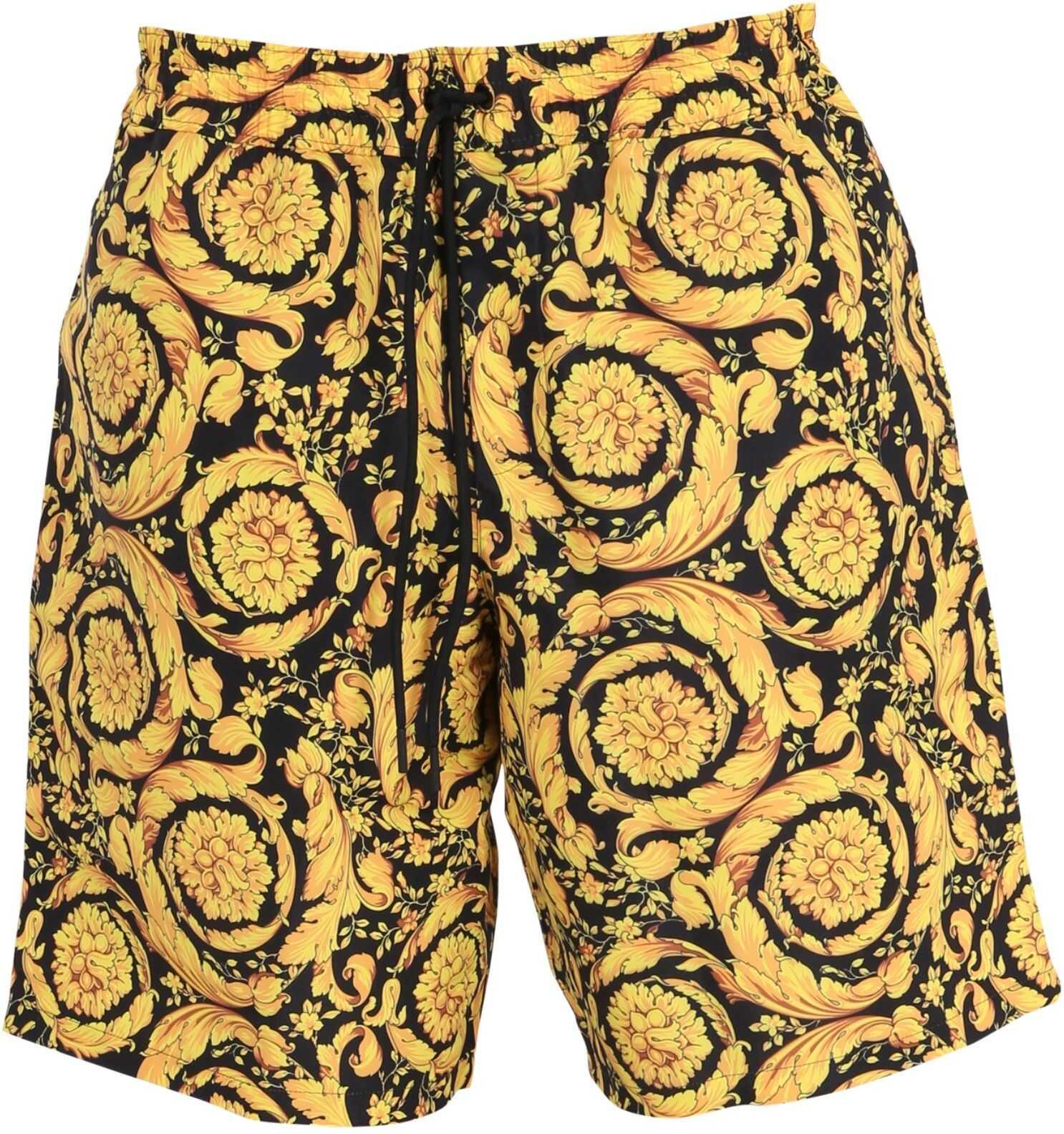Versace Long Swimsuit MULTICOLOUR imagine