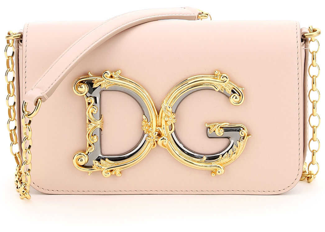 Dolce & Gabbana Dg Girl Mini Bag Barocco BB6885 AW576 CIPRIA 1 imagine b-mall.ro
