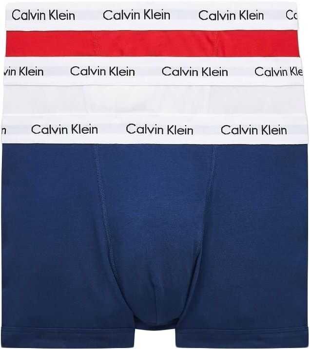Calvin Klein Set 3 Boxeri U2662G Multicolour imagine