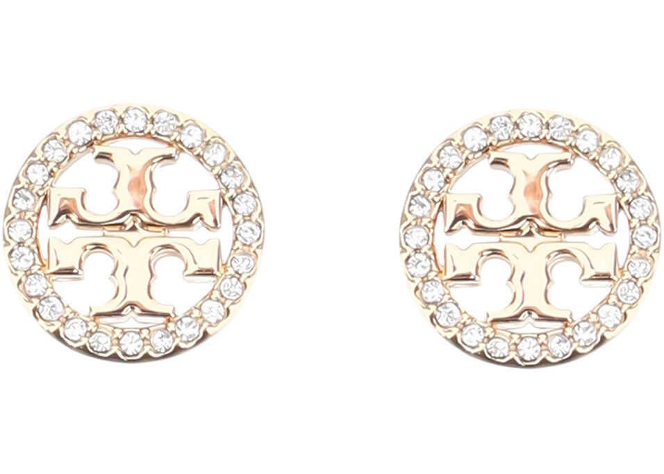 Tory Burch Miller Pave Earrings TORY GOLD CRYSTAL
