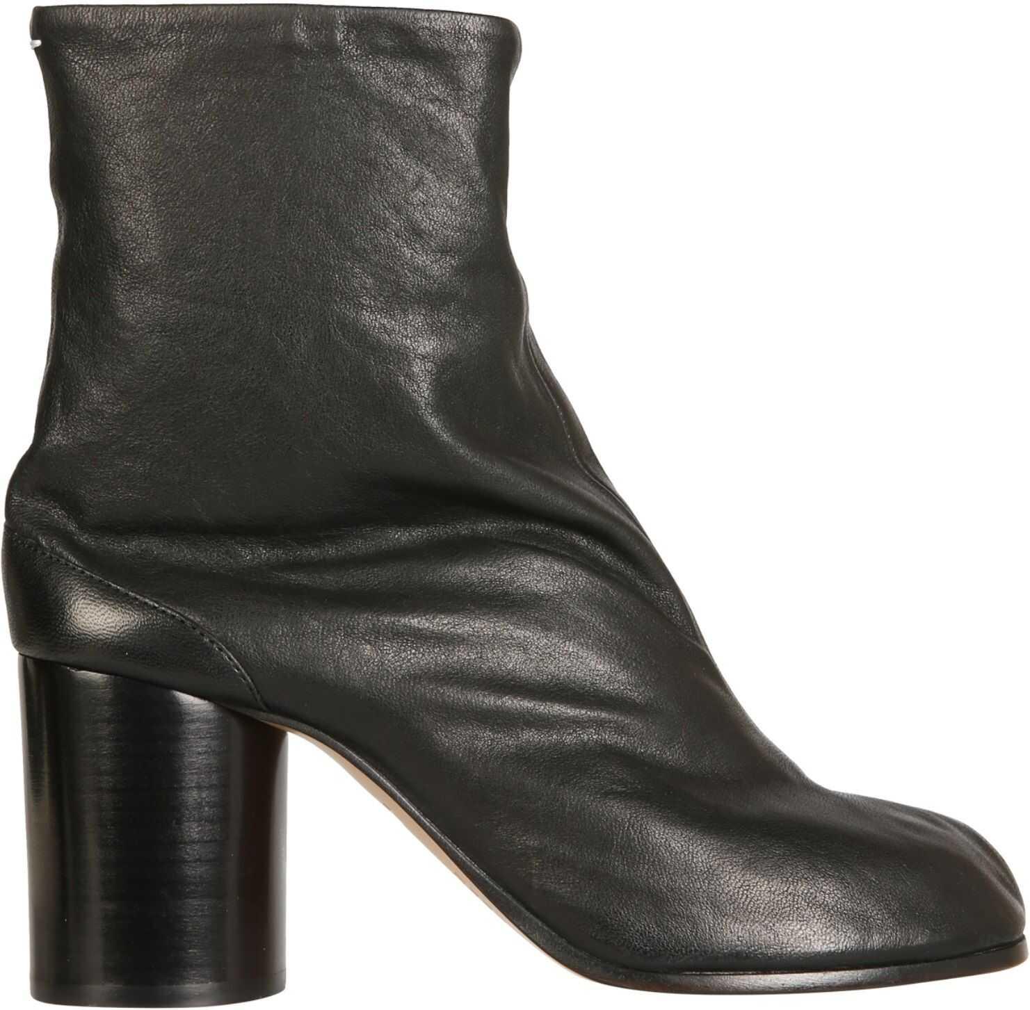 Maison Margiela Tabi Boots S58WU0260_P3753T8013 BLACK imagine b-mall.ro