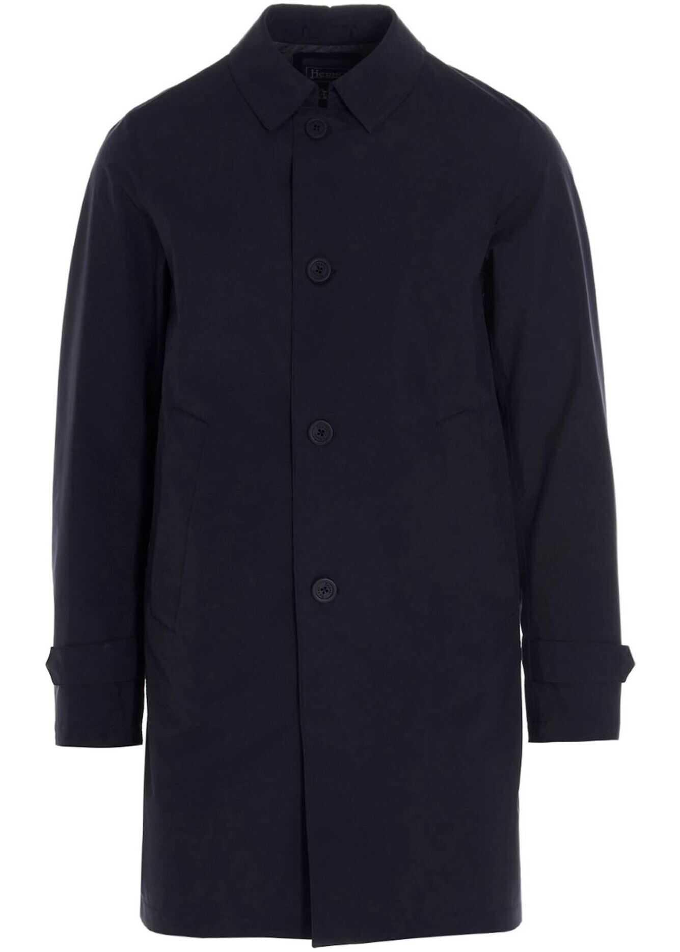 Herno Gore-Tex Raincoat In Blue Blue imagine