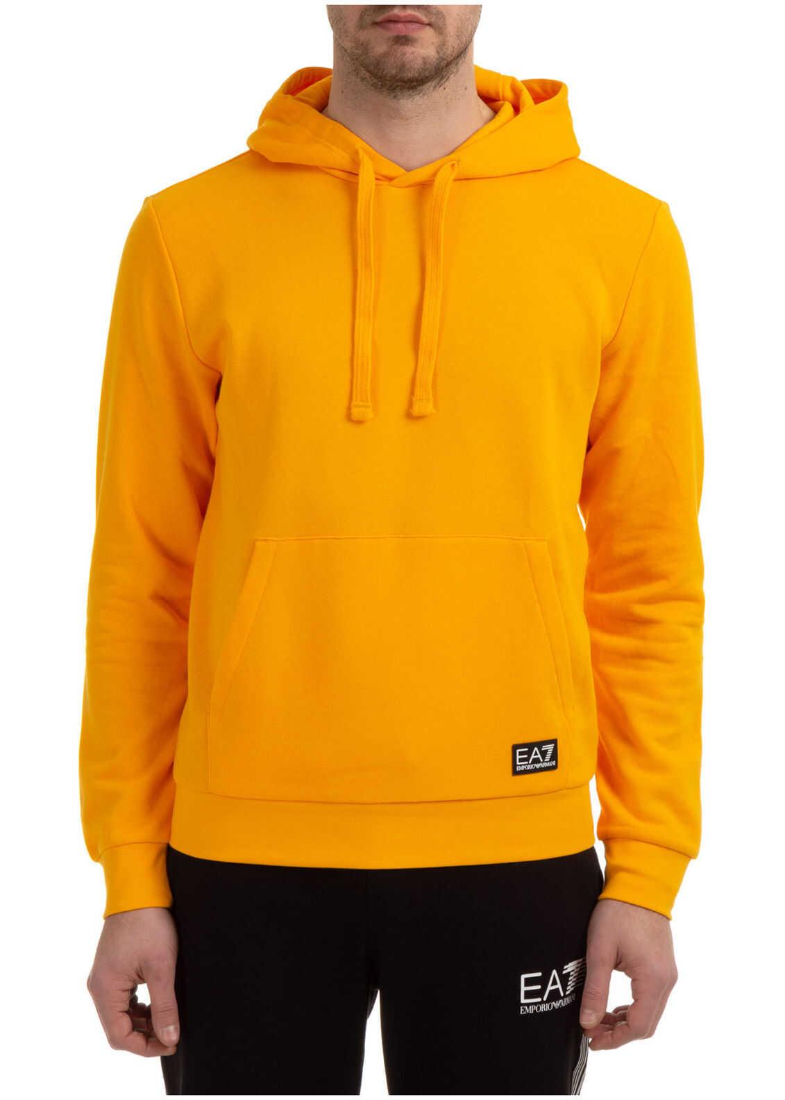 EA7 Sweatshirt Sweat Yellow imagine