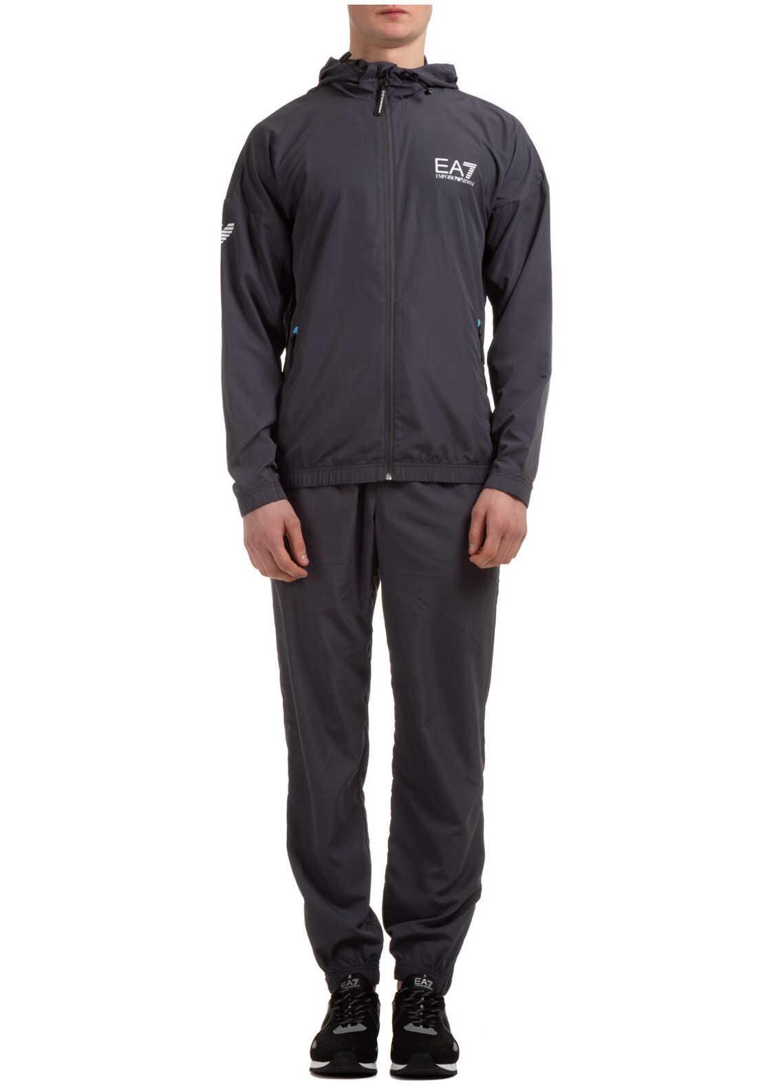 EA7 Sweatshirt Fashion Grey imagine