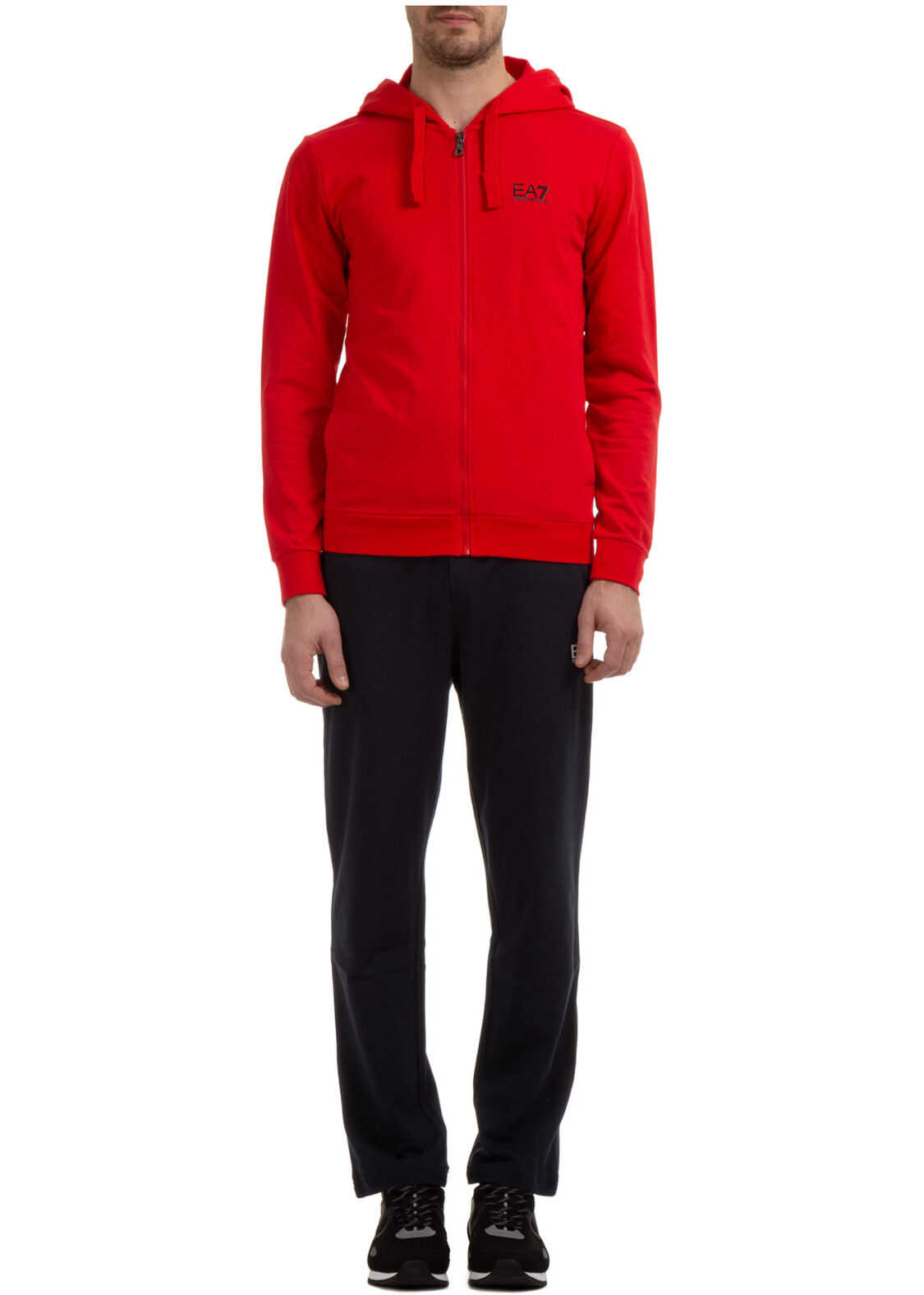 EA7 Sweatshirt Fashion Red imagine