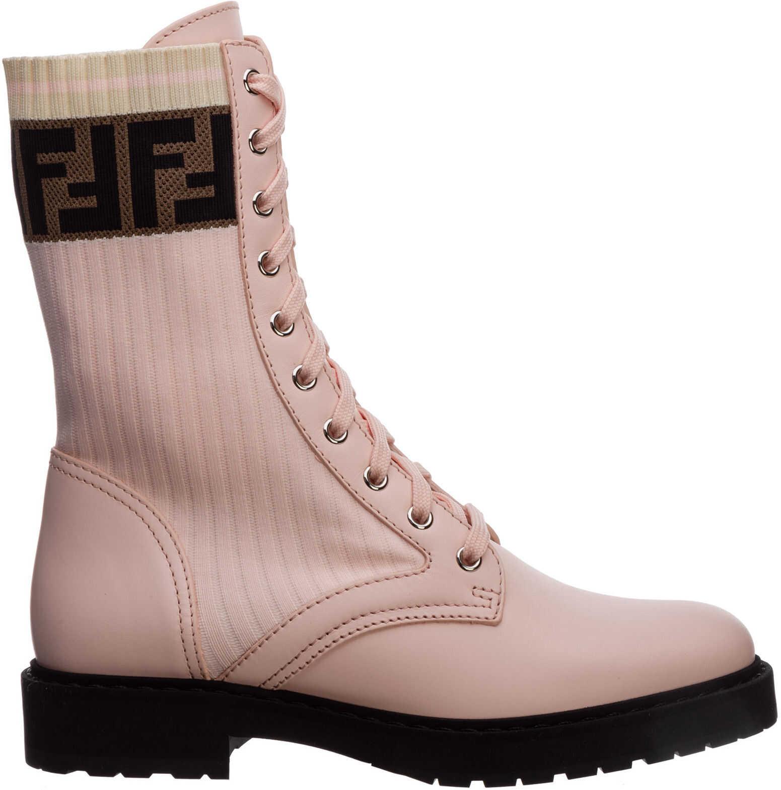 Fendi Boots Booties 8T6780A3H4F1C3A Pink imagine b-mall.ro