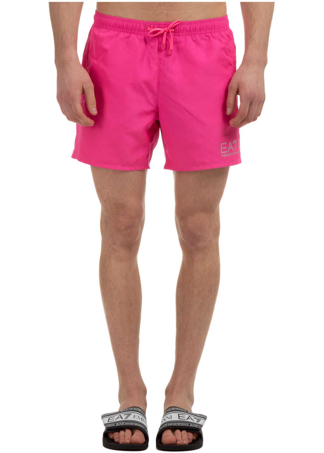 Emporio Armani Swimming Suit Pink imagine