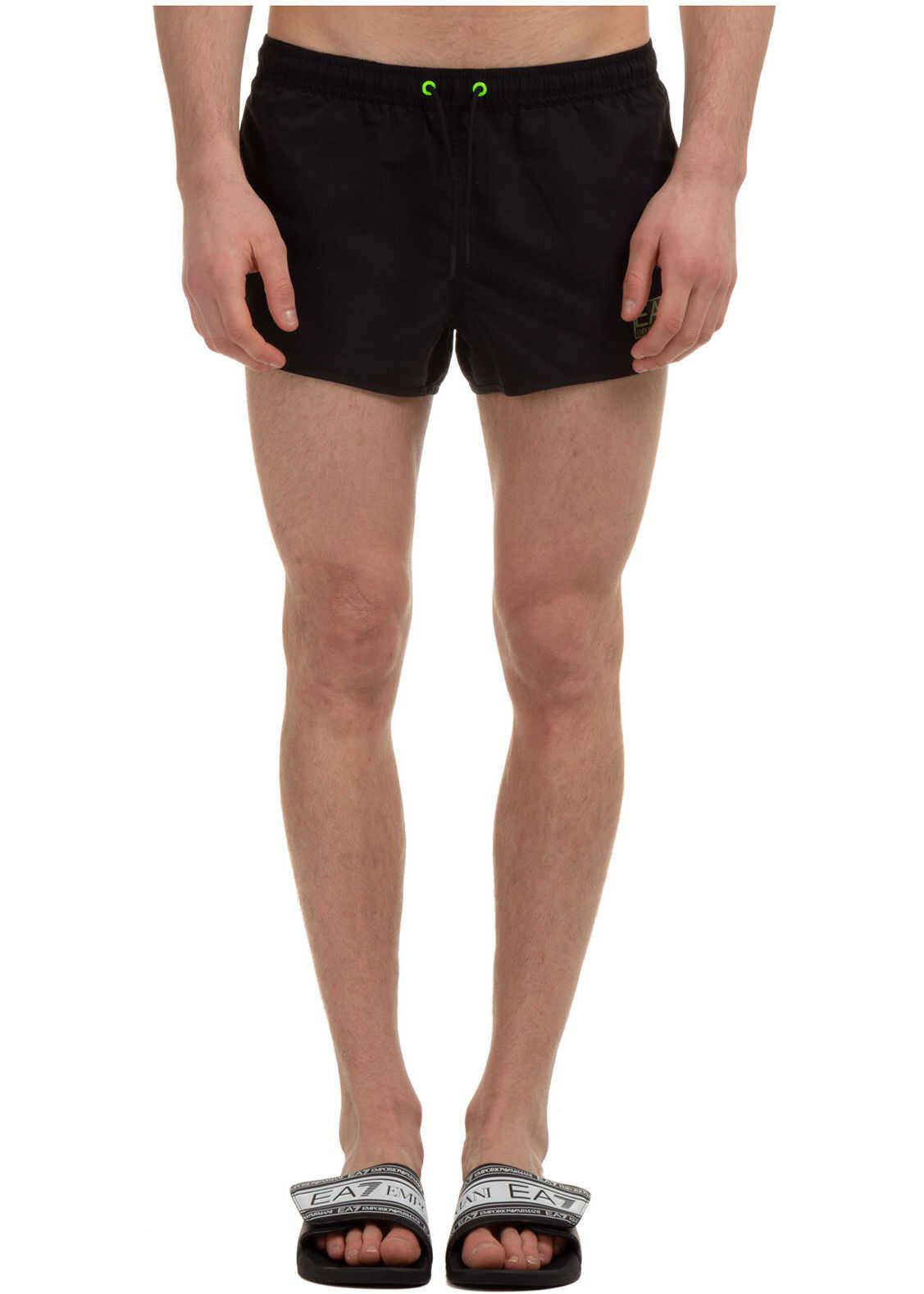 Emporio Armani Swimming Suit Black imagine