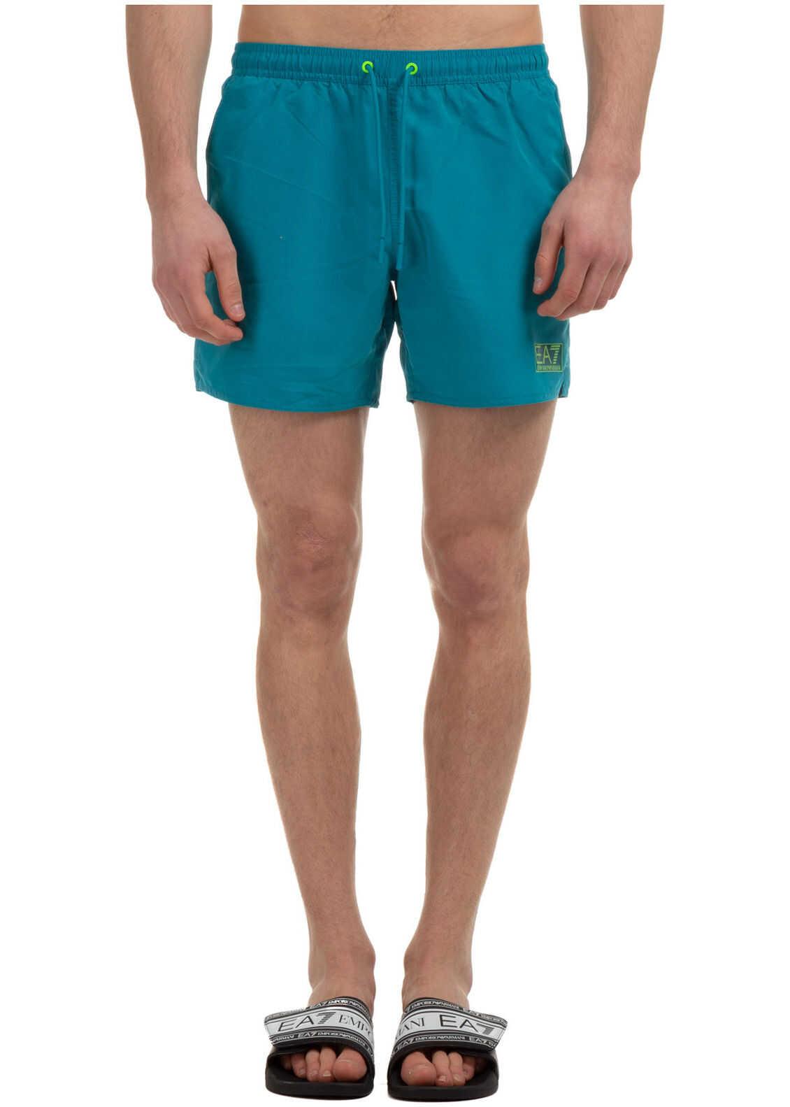 Emporio Armani Swimming Suit Blue imagine
