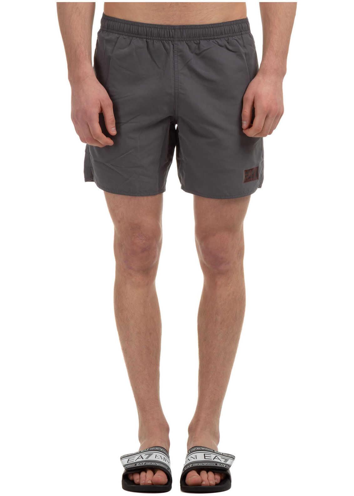 Emporio Armani Swimming Suit Grey imagine