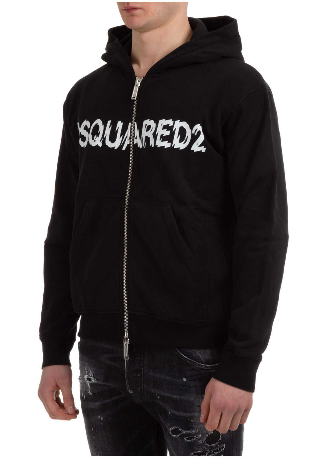 DSQUARED2 Sweatshirt Sweat Black imagine