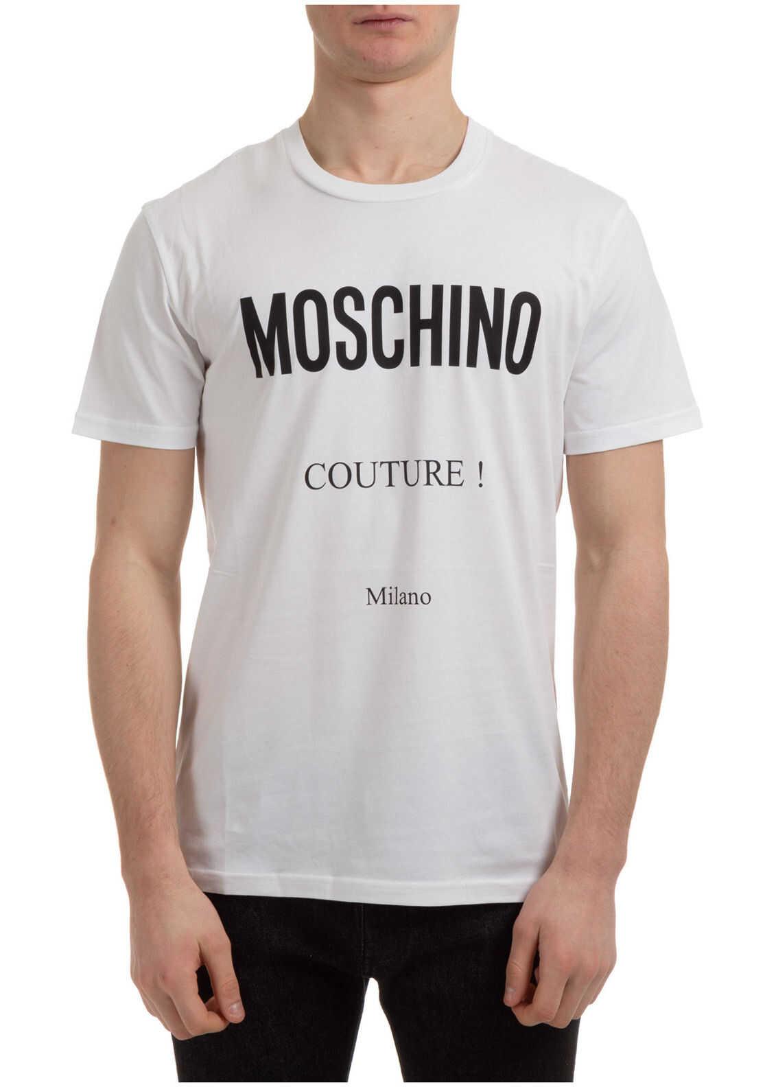 Moschino Jumper Couture White imagine