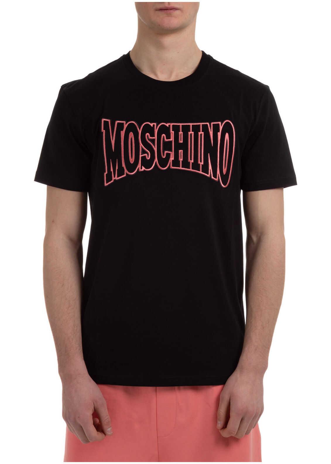 Moschino Neckline Jumper Black imagine
