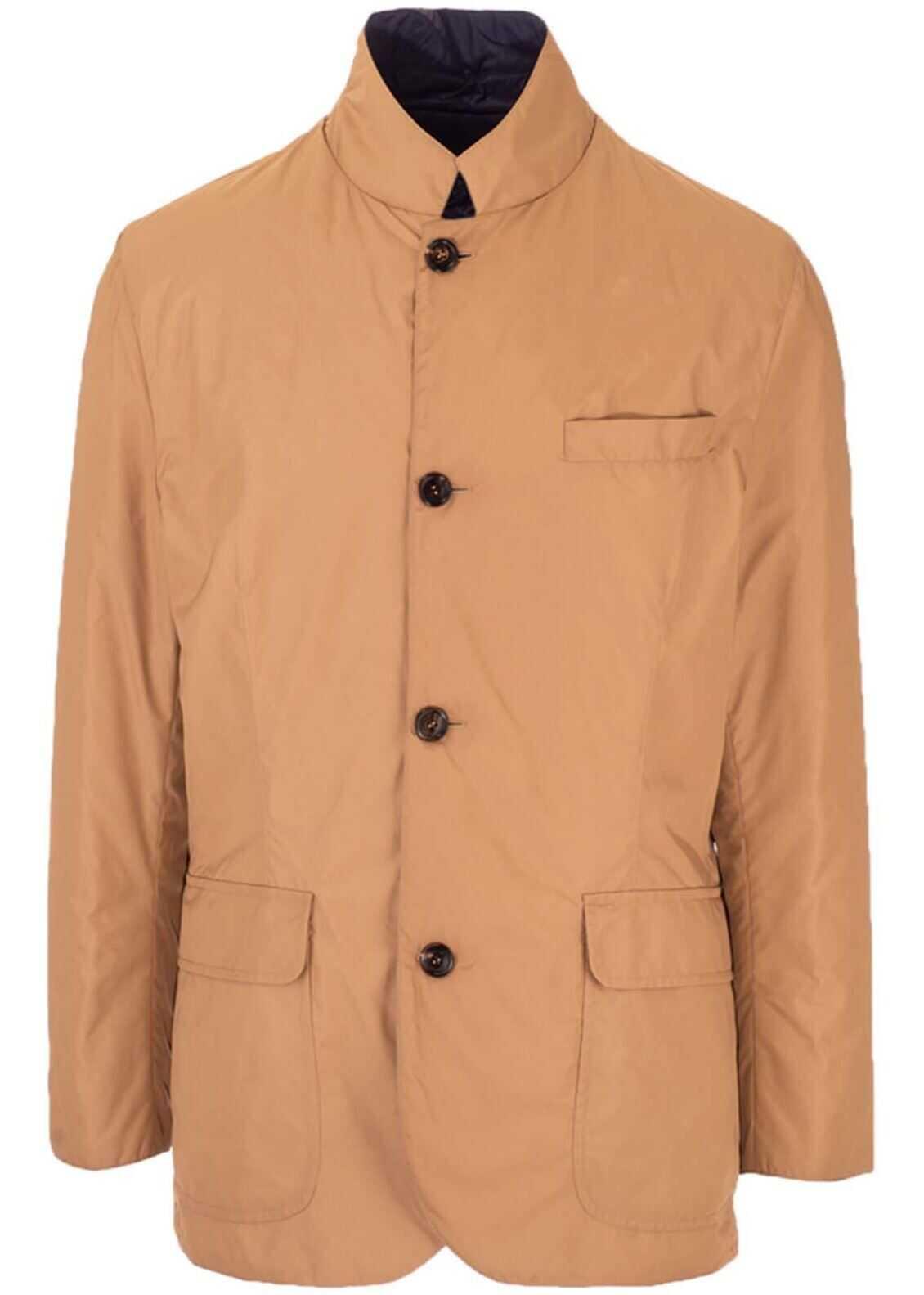 Brunello Cucinelli Jacket In Brown Brown imagine