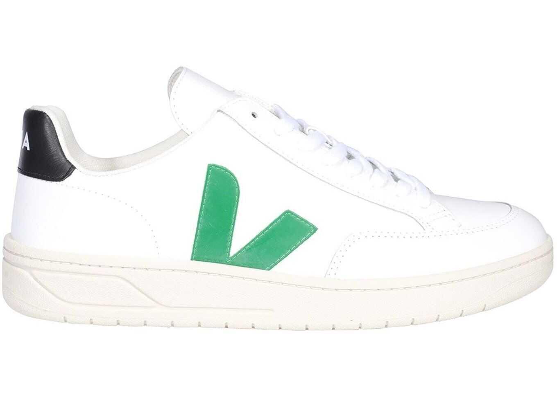 VEJA V-12 Sneakers In White XD021928 White imagine b-mall.ro