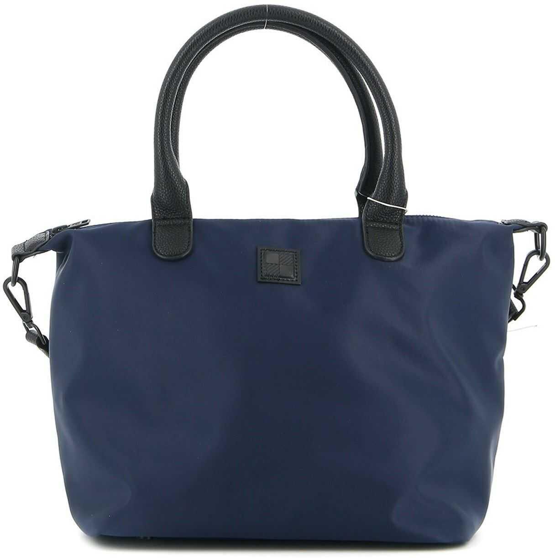Woolrich Nylon Tote Bag In Blue CFWWBA0039FRUT2287398 Blue imagine b-mall.ro